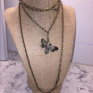 NEVER WORN Chloe + Isabel Adjustable Necklace